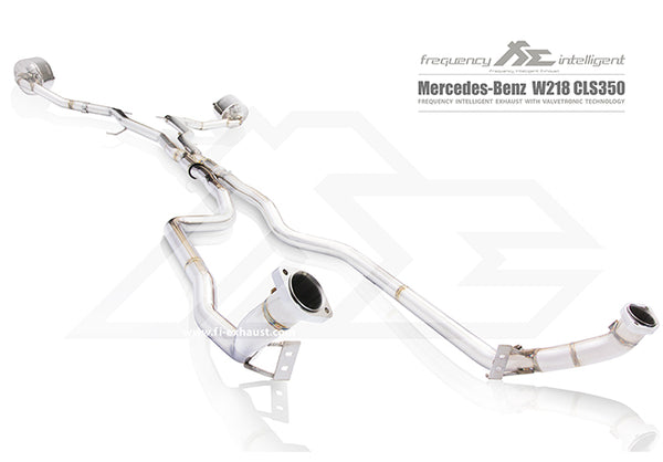 FI Exhaust Mercedes-Benz CLS350 DownPipe Only