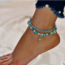 Women's Anklet Bracelet Fashion on the Leg Foot Jewelry Ankle Chain - TcMarketShop