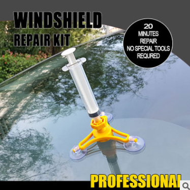 Crack Repair PRO - Genius Car Windshield Repair Kit Glass Crack Hole