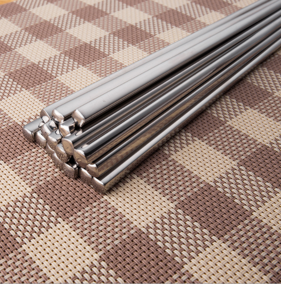 Stainless Steel Long Chopsticks Reusable Non-Slip Design Best Gift - TcMarketShop