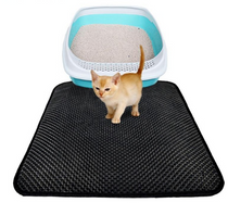 Pet Cat Litter Mat Double-Layer with Waterproof Bottom Non-slip Layer - TcMarketShop
