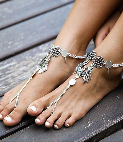 Women's Anklets Fashion Barefoot Ankle Bracelet On the Leg Beach Jewelry - TcMarketShop