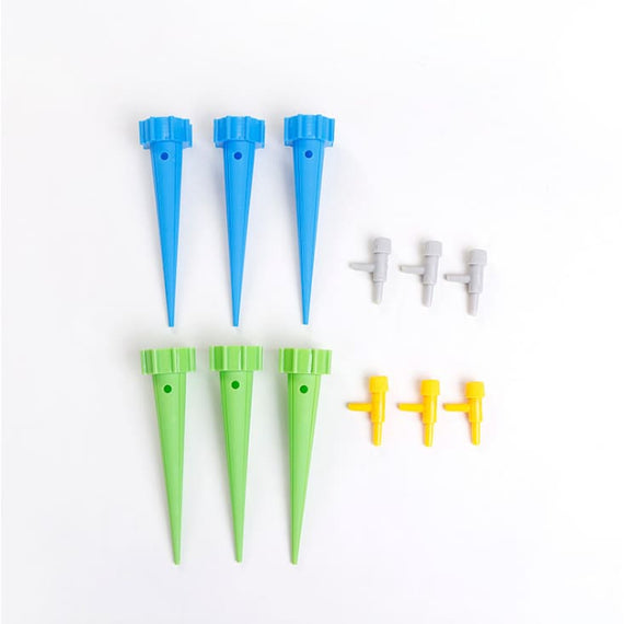 6Pcs Plant Self Water Automatic Root Funnel Spikes For Soda Bottle Feeder - TcMarketShop