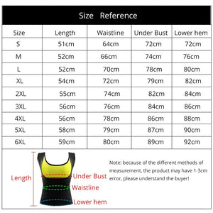 Slimming Body Shaping Vest Sweat Sauna Waist Shapers Trainer Weight