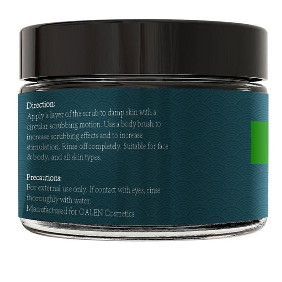 Activated Charcoal Face & Body Scrub Wrinkles Anti Cellulite Treatment - TcMarketShop