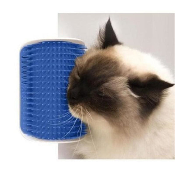 Cat Self-Grooming Brush Comb Corner Scratching Hair Removal Massage - TcMarketShop