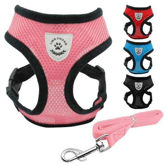 Dog Harness Adjustable Pet Collar Vest