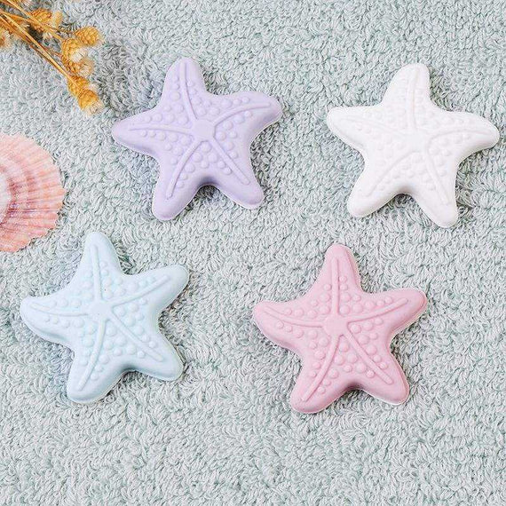 Door Lock Protective Wall Pad StarFish with Luminous Rubber Handle - TcMarketShop