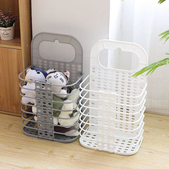 Foldable Laundry Basket for Dirty Clothes Toys Bag Bathroom Organizer - TcMarketShop