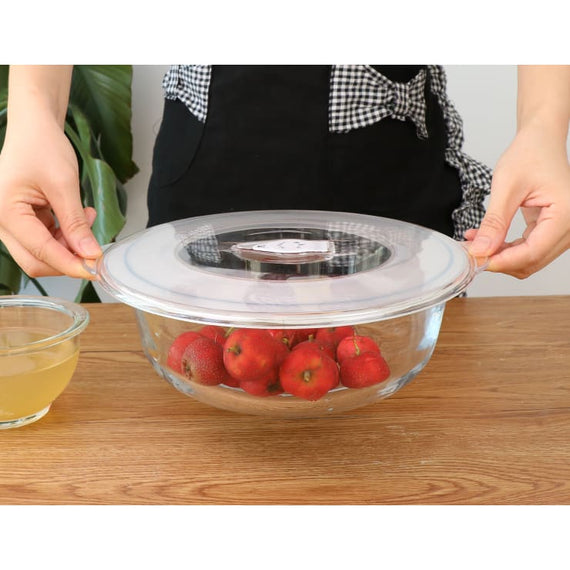 Food Saver Vacuum Sealer Cover Fresh Kitchen Tool for Dish or Bowls - TcMarketShop