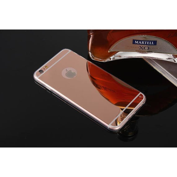 For Apple Iphone 7 Mirror Electroplating Soft Tpu Phone Cover Cases - TcMarketShop