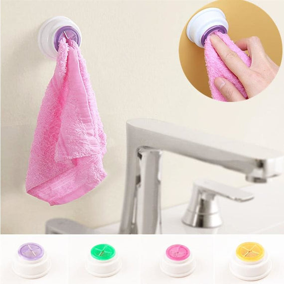 Household Washcloth Holder Dishclout Storage Hook Kitchen Accessories - TcMarketShop