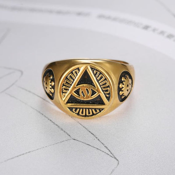 Illuminati Ring The All-Seeing Eye