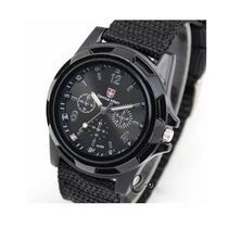 Men Gemius Army Watch Cloth Military Band Sports Wristwatches Quartz - TcMarketShop