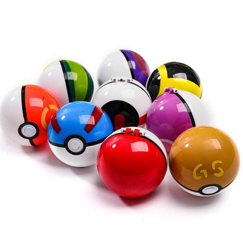 Pokemon Clip 'n' Go Pokeball With Figure