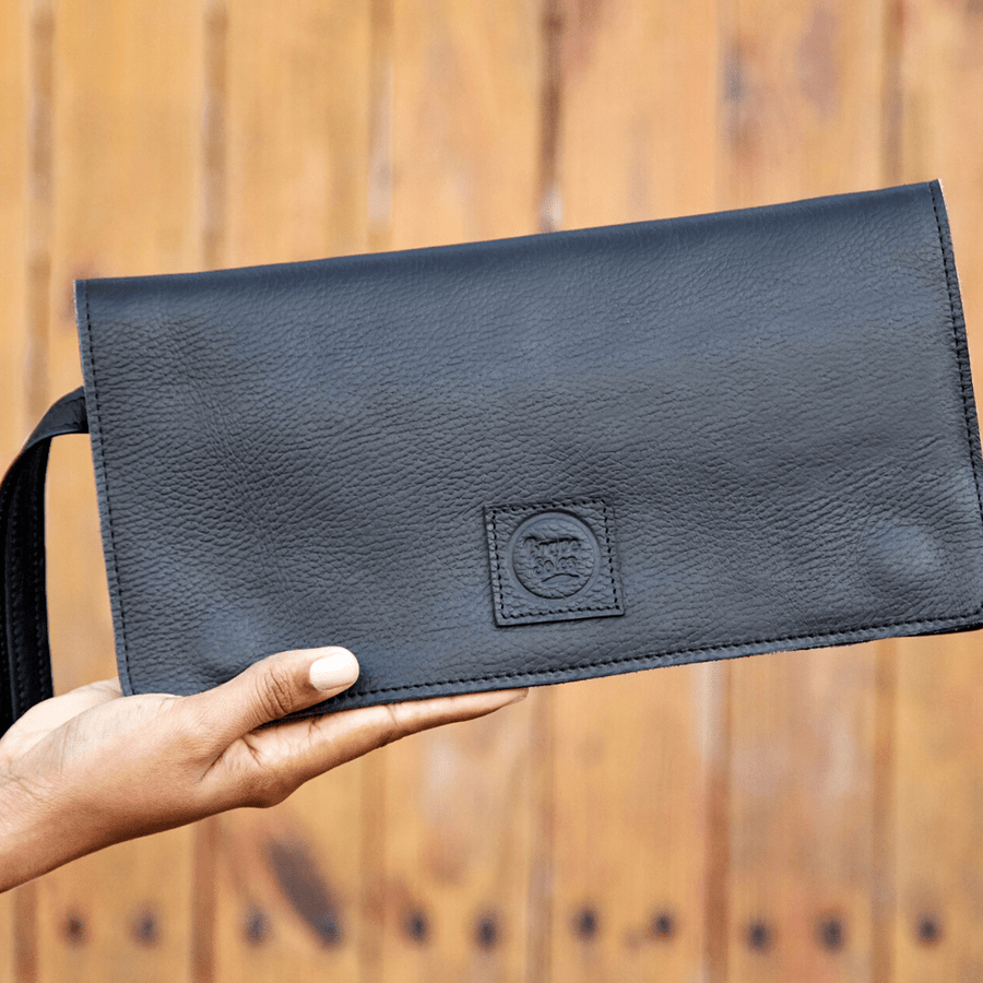 The Kristina Leather Travel Clutch Wallet