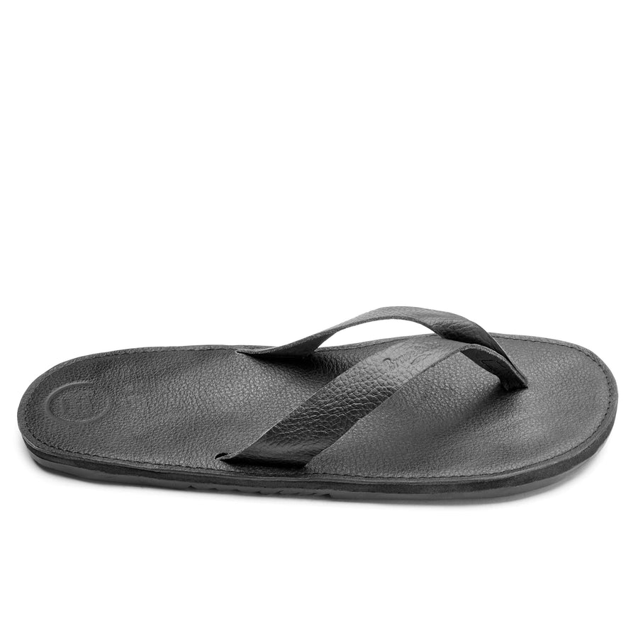 men's leather flip flop