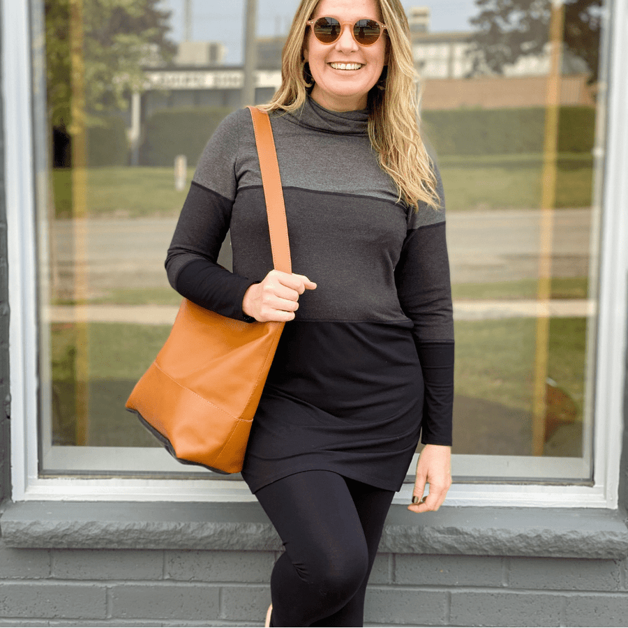 The Mirabal Leather Tote Purse