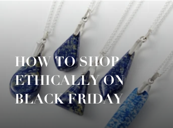 Daria Day blog post: How to Shop Ethically on Black Friday