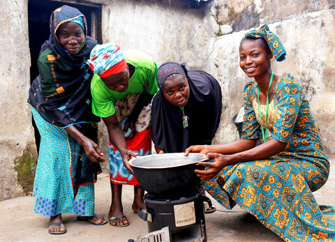 Clean cookstoves for shea producers in Oyo State
