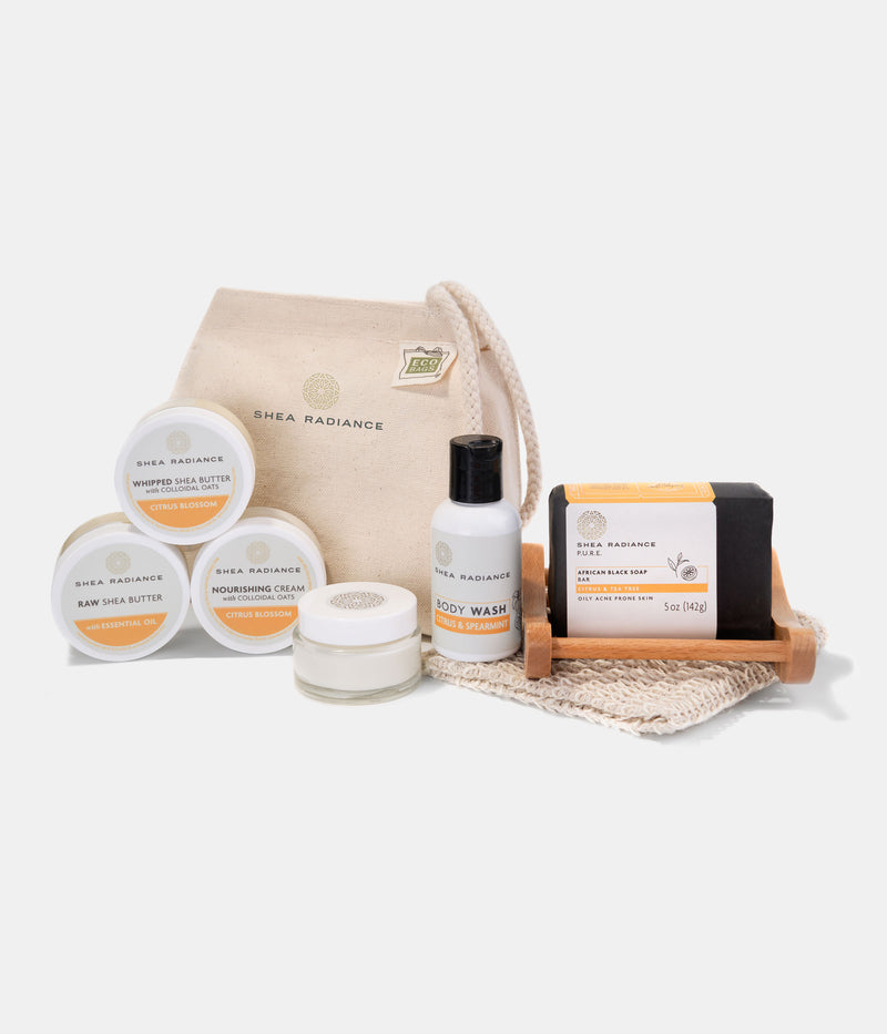 The Ultimate Travel Set - 8 pieces + Gift Bag