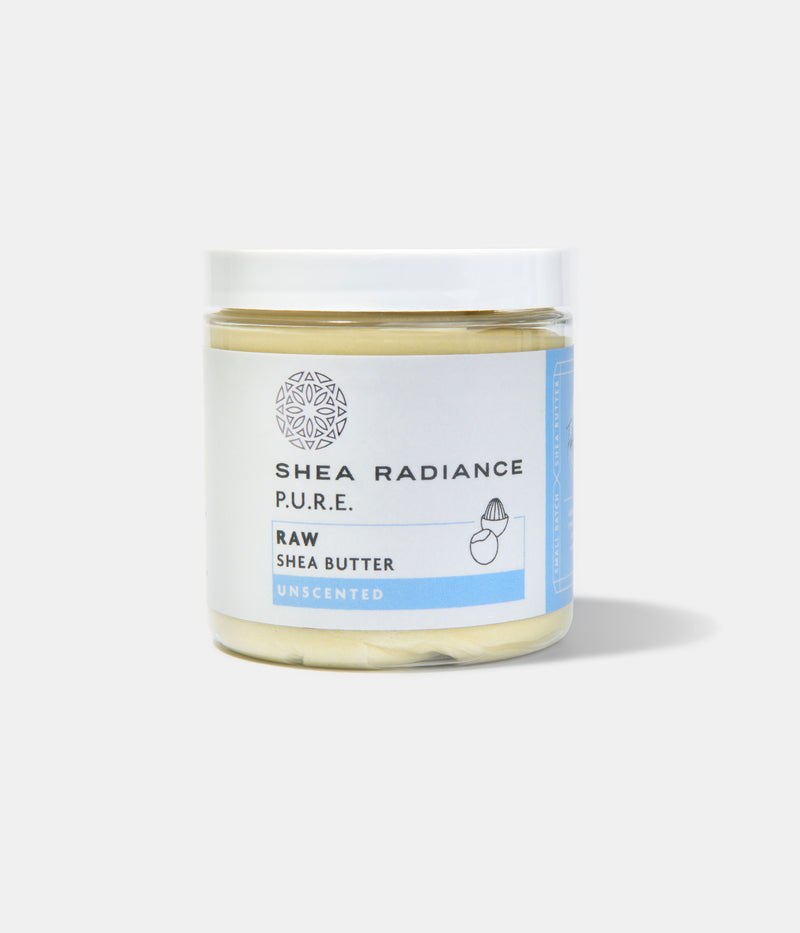 Raw Shea Butter- Handcrafted, Unrefined Jar