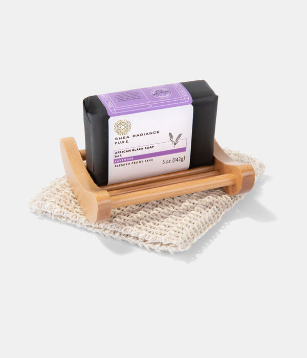 African Black Soap Bath Set