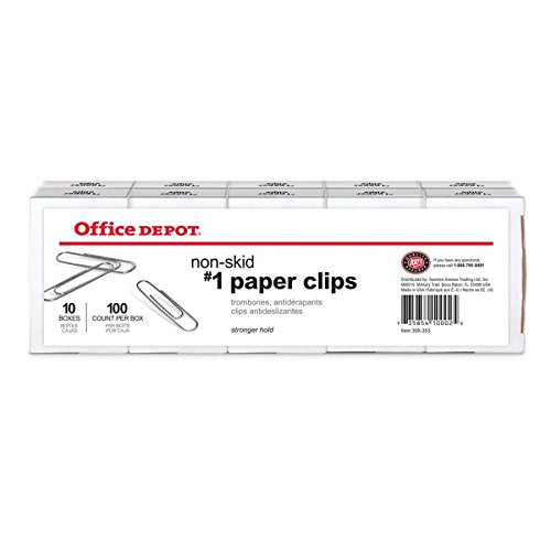 Office Depot Brand Paper Clips