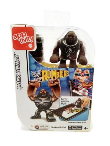 WWE Wrestling Mark Henry Apptivity Mini Figure