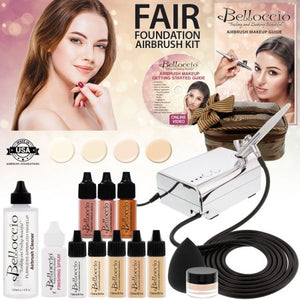 Belloccio Professional Fair Shade Shade Airbrush Cosmetic System