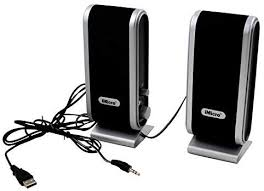 iMicro 2.0-Channel USB 2.0 Multimedia Speaker System