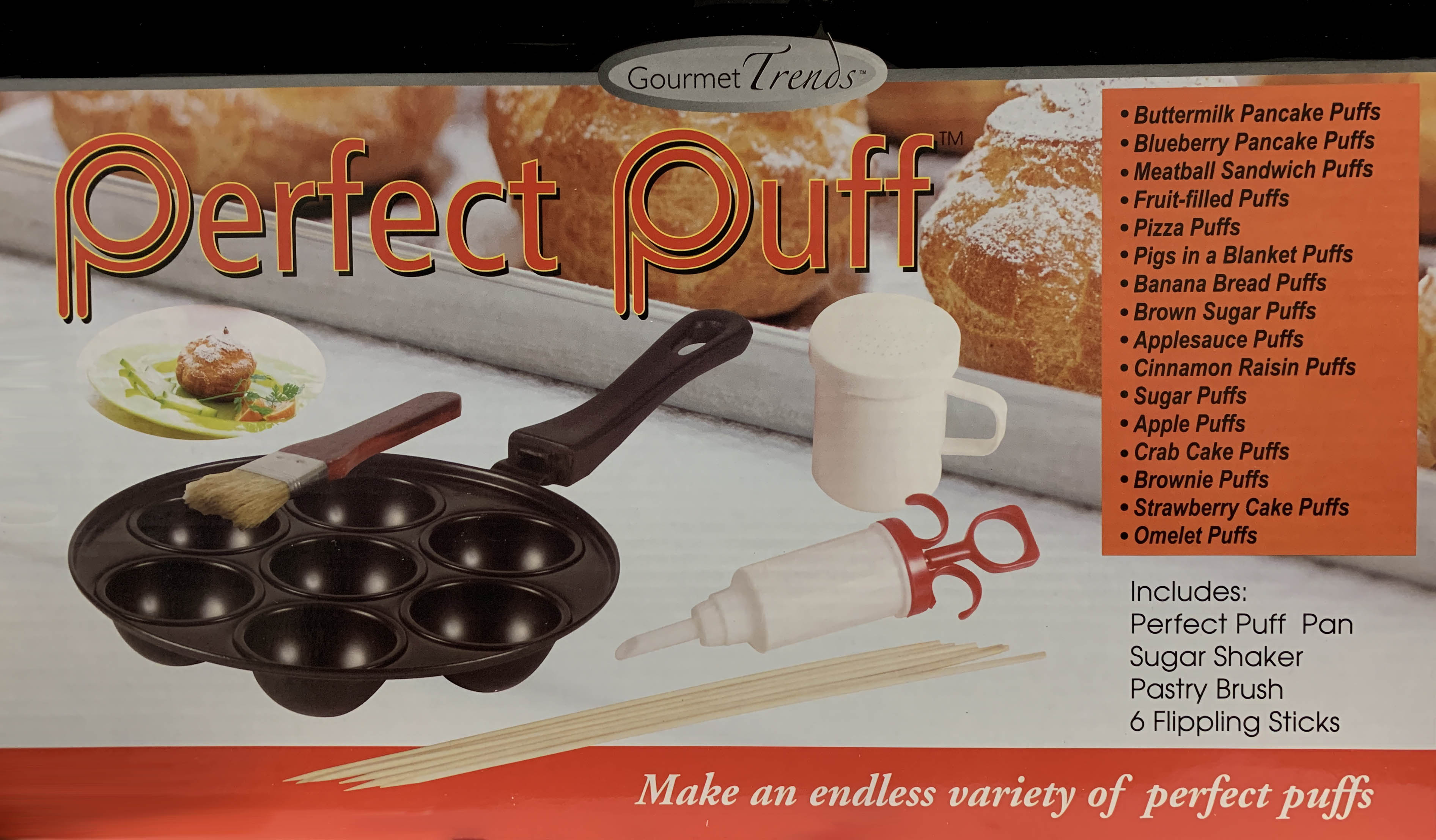 Gourmet Trends Perfect Puff