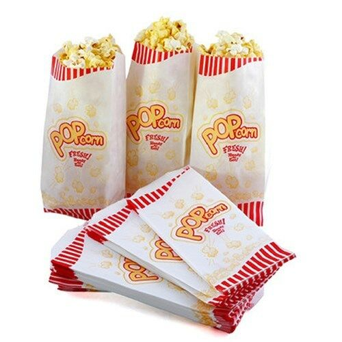 Popcorn Bags for theater, party, or movie night