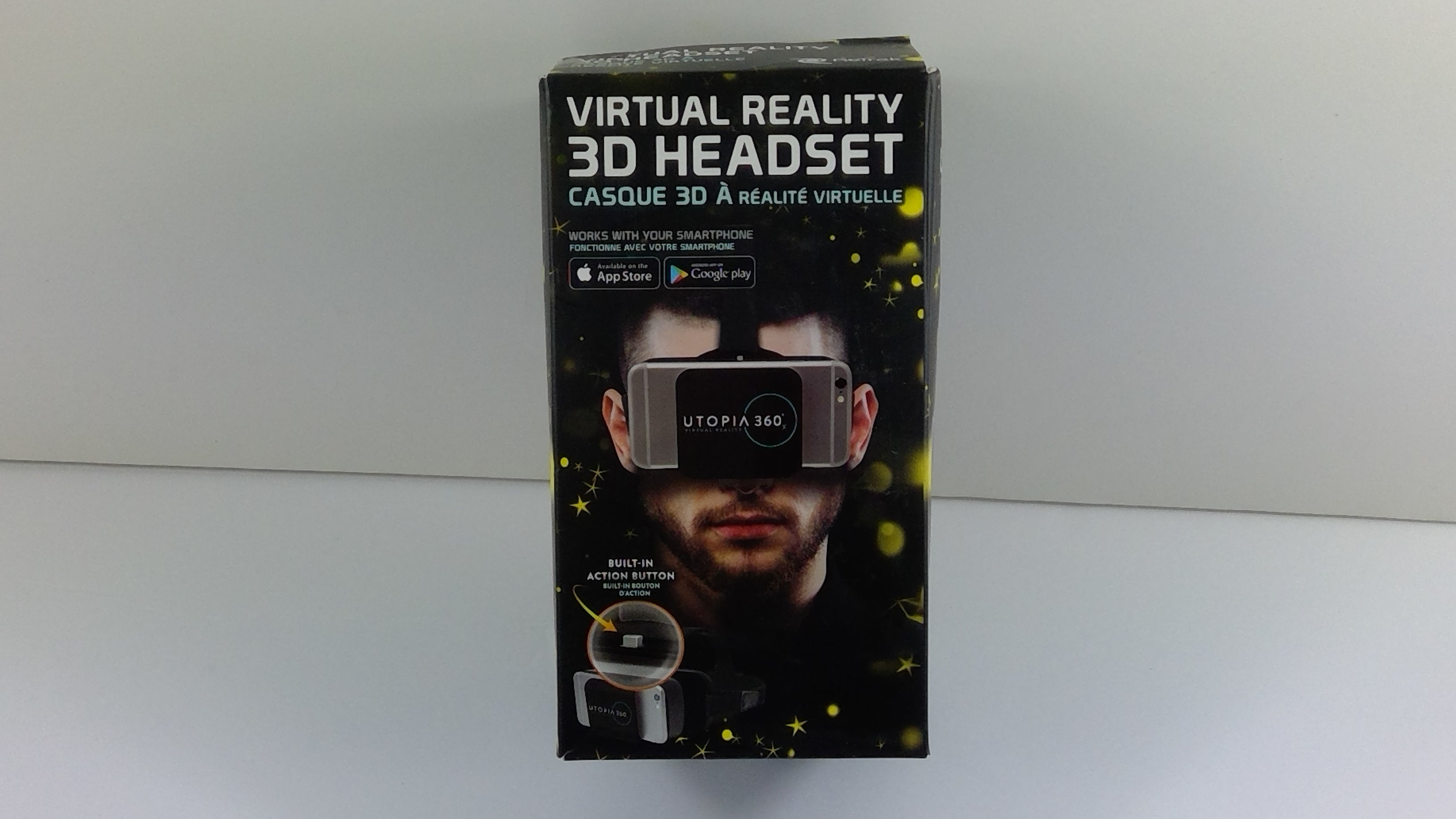 Utopia 360 Virtual Reality 3D Headset