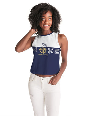 Stay Woke Women's Cropped Tank
