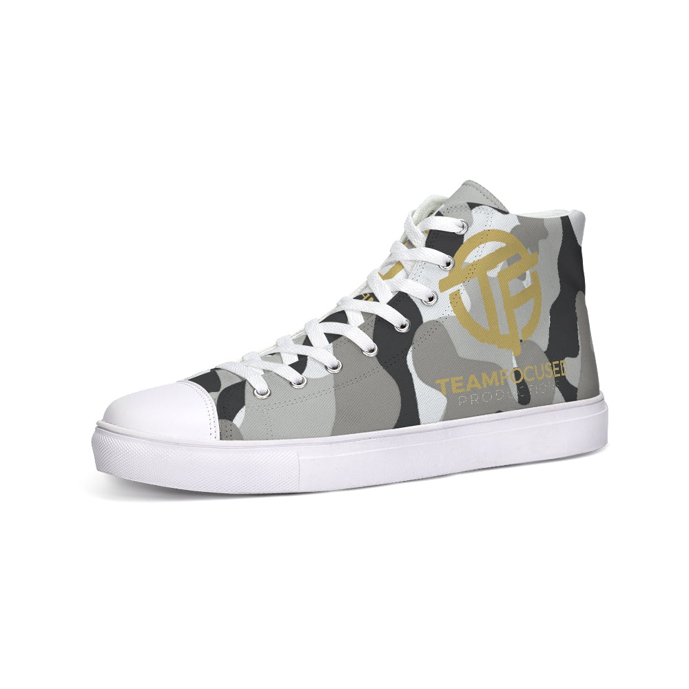 Camo focused Hightop Canvas Shoe