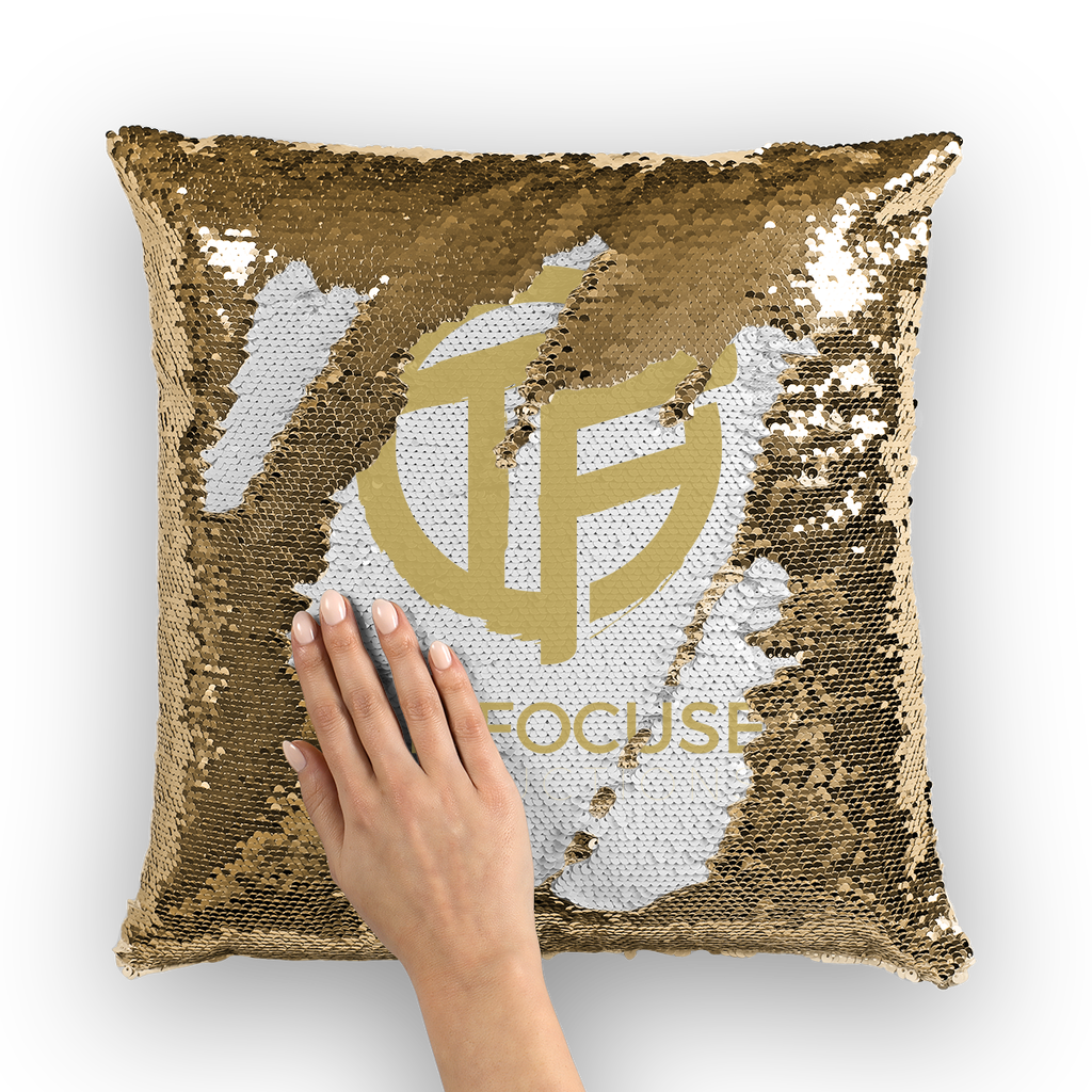 tf Sequin Cushion Cover