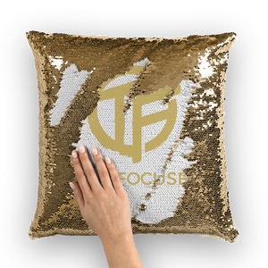 Open image in slideshow, tf Sequin Cushion Cover