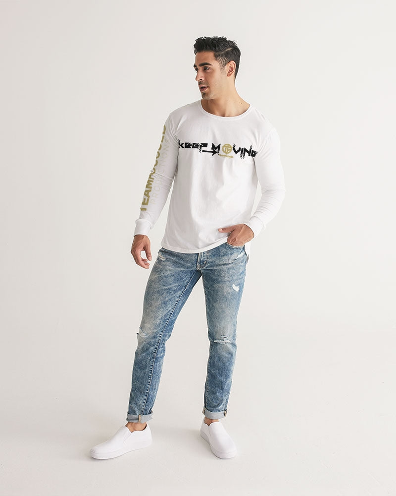 Keep Moving Men's Long Sleeve Tee
