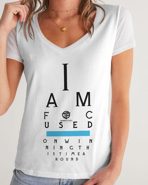 Eye Test Women's V-Neck Tee