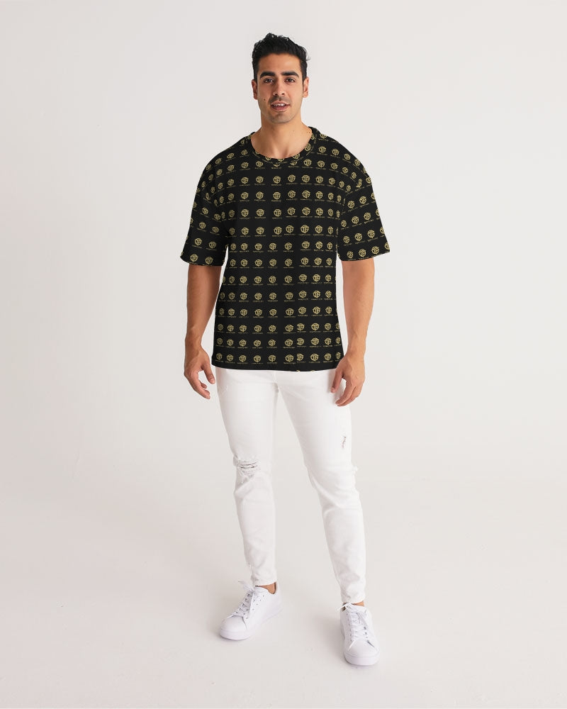 TEAM FOCUSED Checkered Men's Premium Heavyweight Tee