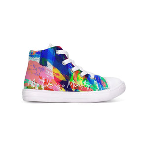 Royal Carter Collection Kids Hightop Canvas Shoe