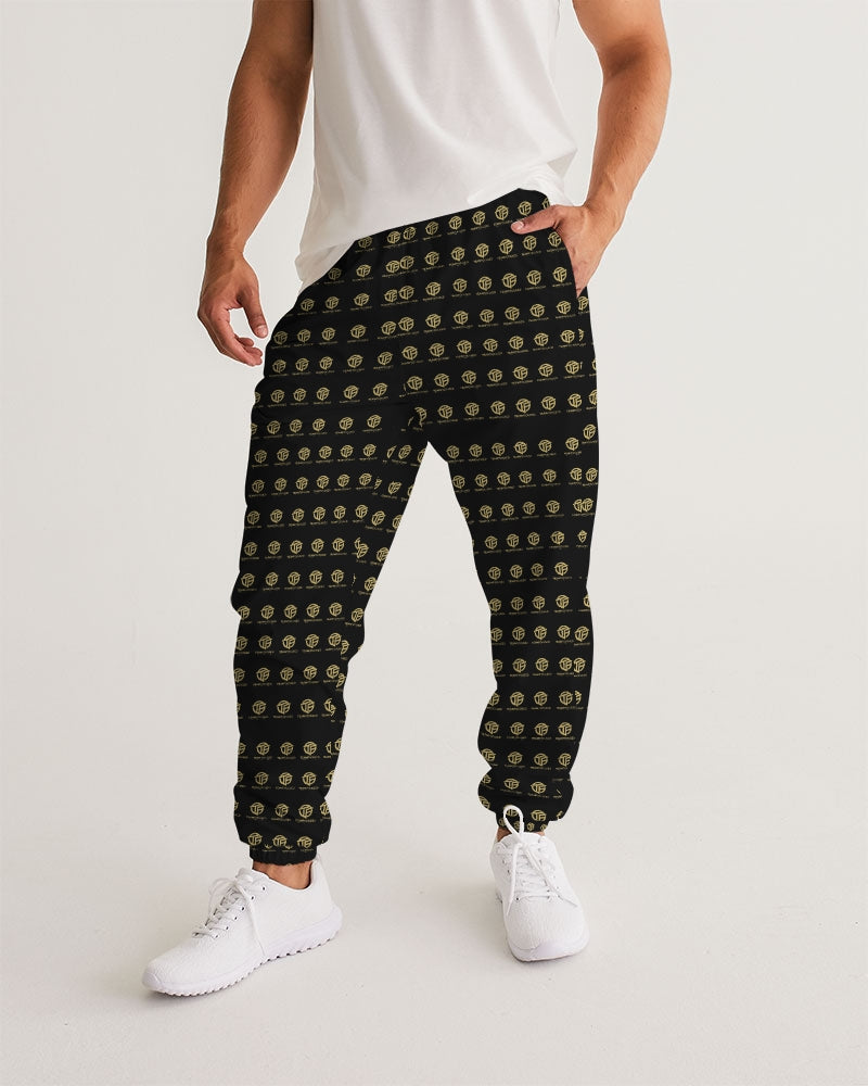TEAM FOCUSED Checkered Men's Track Pants