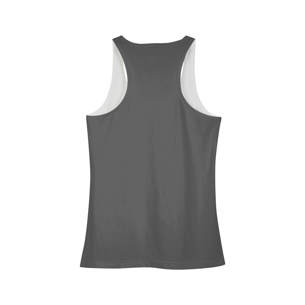 gray focused Women's Tank