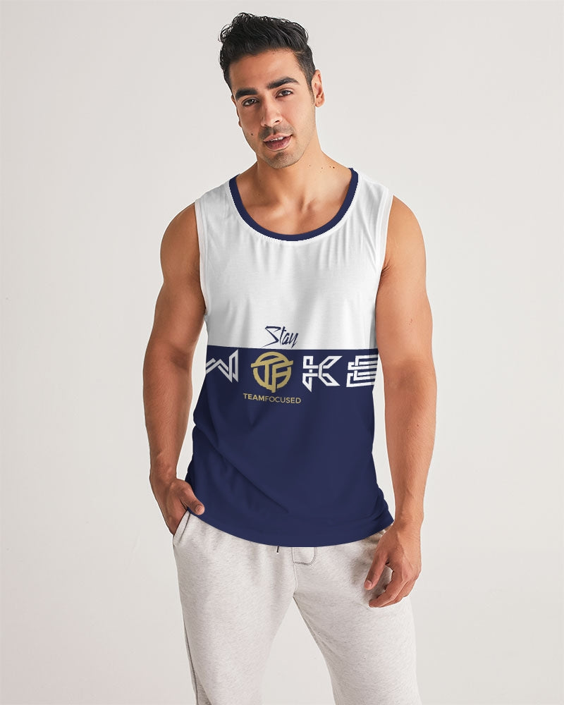 Stay Woke Men's Sport Tank