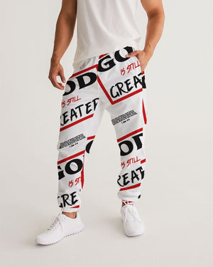 God is Still Greater Men's Track Pants