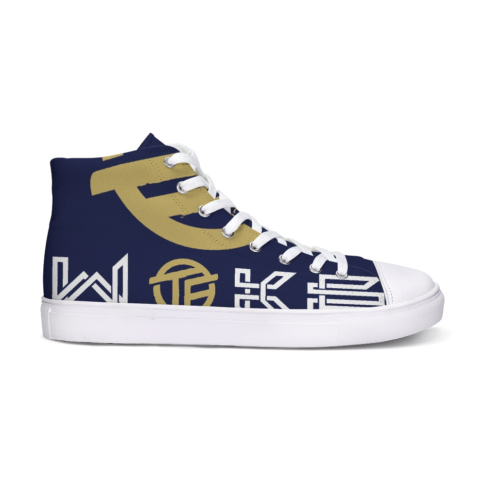 Stay Woke Hightop Canvas Shoe