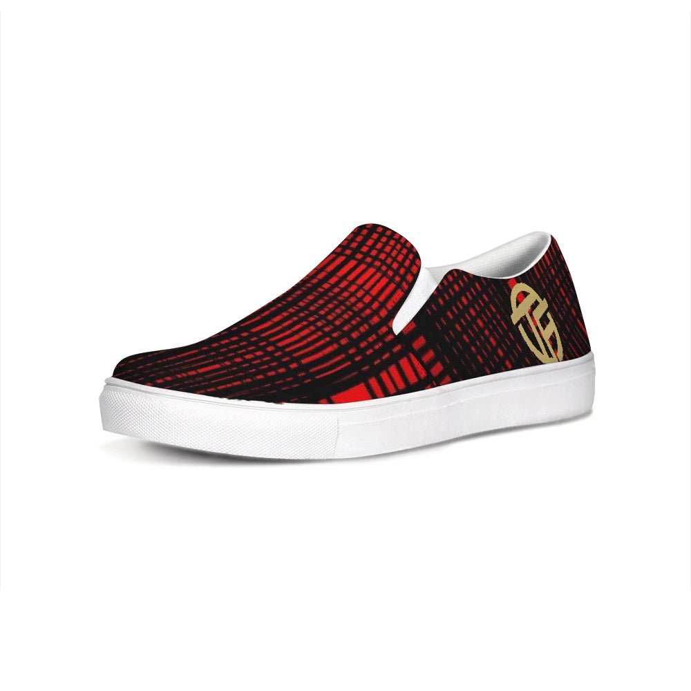 TF RED Slip-On Canvas Shoe
