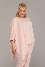 ASYMMETRIC TOP PINK