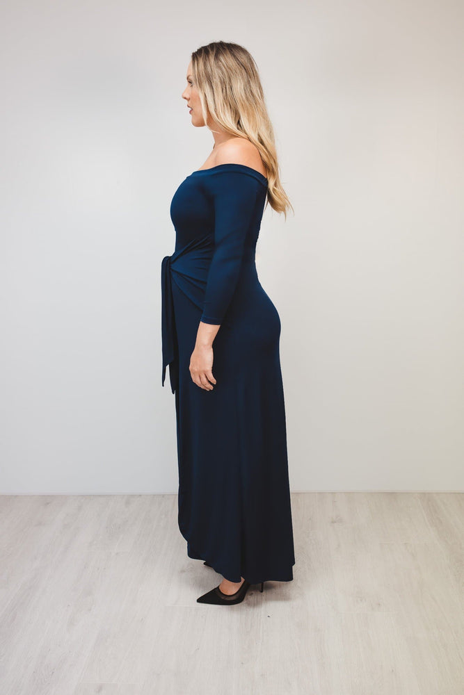 Bump to Baby Magical Maxi Dress - Navy